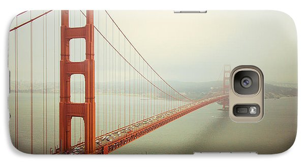Golden Gate Bridge Galaxy Case by Ana V Ramirez
