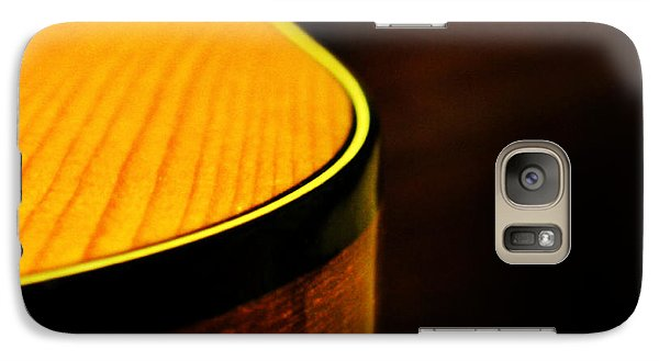 Golden Guitar Curve Galaxy S7 Case by Deborah Smith