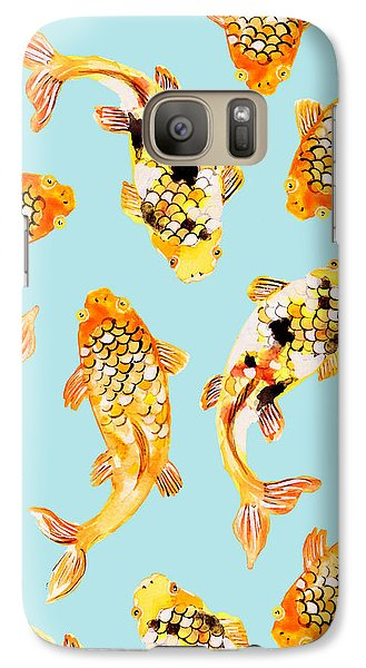 Goldfish Galaxy Case by Uma Gokhale