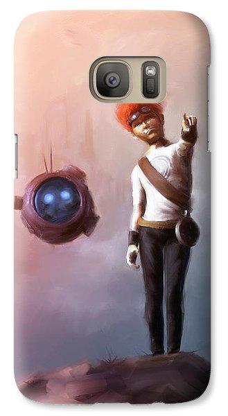 Goodkid Galaxy S7 Case by Jamie Fox