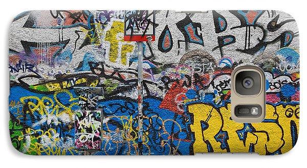 Grafitti On The U2 Wall, Windmill Lane Galaxy Case by Panoramic Images