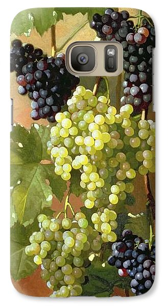 Grapes Galaxy S7 Case by Edward Chalmers Leavitt