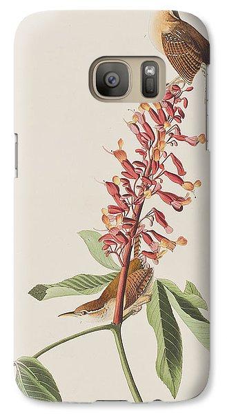 Great Carolina Wren Galaxy S7 Case by John James Audubon