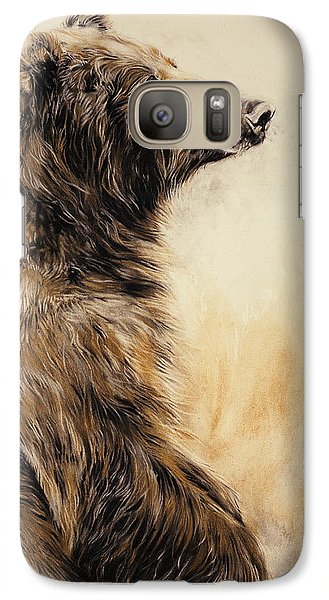 Grizzly Bear 2 Galaxy Case by Odile Kidd