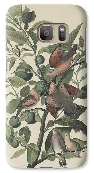 Ground Dove Galaxy S7 Case by John James Audubon