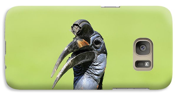 Ground Hornbill Galaxy S7 Case by David & Micha Sheldon