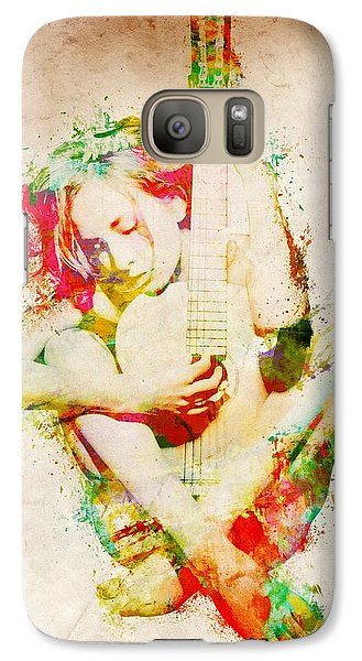 Guitar Lovers Embrace Galaxy S7 Case by Nikki Smith