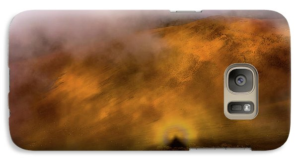Galaxy Case featuring the photograph Haleakala Halo by M G Whittingham
