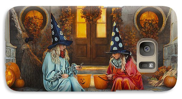 Halloween Sweetness Galaxy Case by Greg Olsen