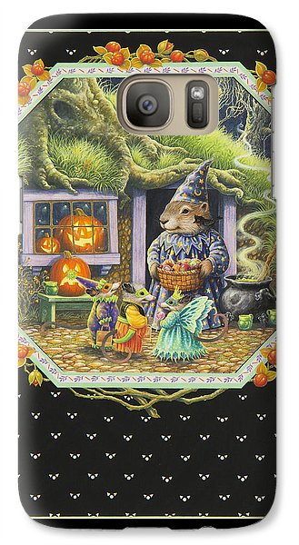 Halloween Treats Galaxy Case by Lynn Bywaters