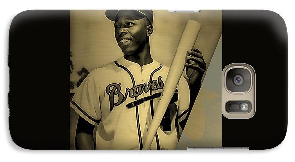 Hank Aaron Collection Galaxy Case by Marvin Blaine