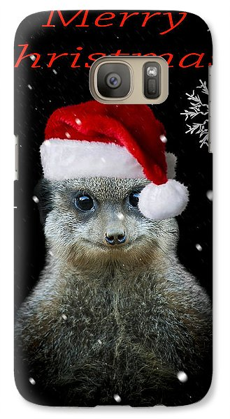 Happy Christmas Galaxy Case by Paul Neville