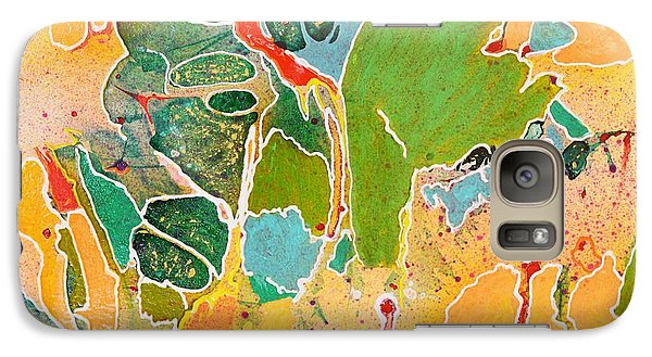 Happy Spirits Galaxy S7 Case by Marianne Davidow