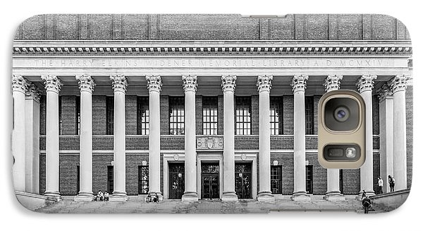 Widener Library At Harvard University Galaxy S7 Case by University Icons
