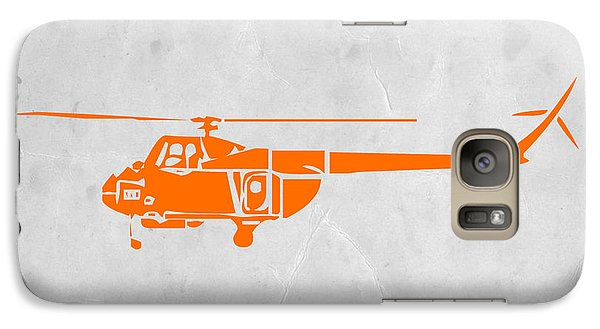 Helicopter Galaxy S7 Case by Naxart Studio