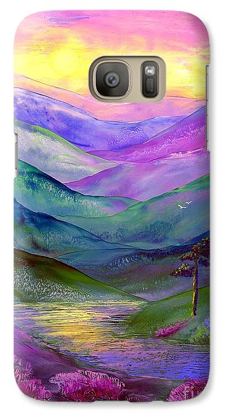 Highland Light Galaxy S7 Case by Jane Small