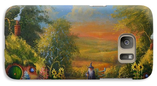 Hobbiton, Disturbing The Peace  Galaxy S7 Case by Joe  Gilronan