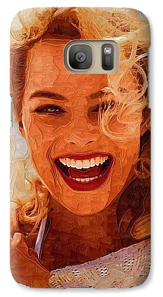 Hollywood Star Margot Robbie Galaxy Case by Best Actors