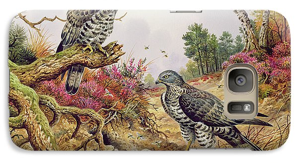 Honey Buzzards Galaxy S7 Case by Carl Donner