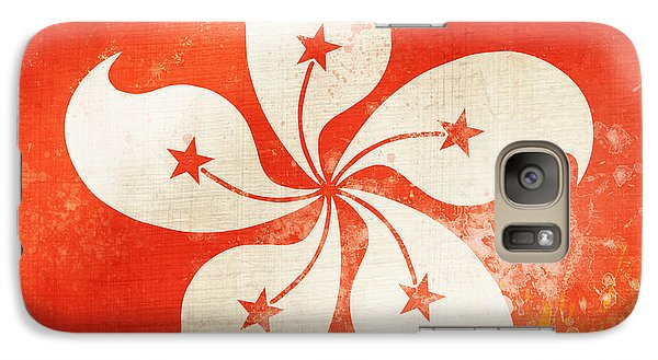 Hong Kong China Flag Galaxy Case by Setsiri Silapasuwanchai