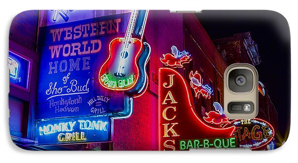 Honky Tonk Broadway Galaxy S7 Case by Stephen Stookey