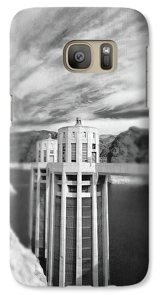 Hoover Dam Intake Towers No. 1-1 Galaxy S7 Case by Sandy Taylor