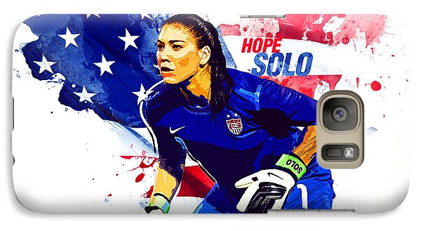 Hope Solo Galaxy Case by Semih Yurdabak