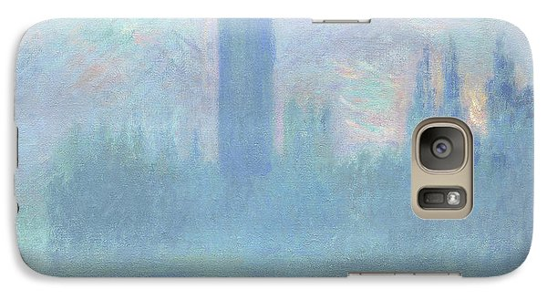 Houses Of Parliament  London Galaxy S7 Case by Claude Monet