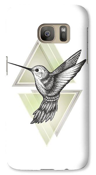 Hummingbird Galaxy Case by Barlena