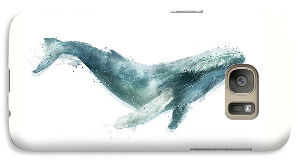 Humpback Whale From Whales Chart Galaxy Case by Amy Hamilton
