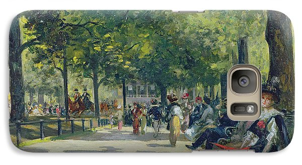 Hyde Park - London  Galaxy Case by Count Girolamo Pieri Nerli