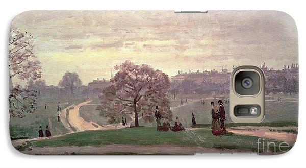 Hyde Park Galaxy S7 Case by Claude Monet
