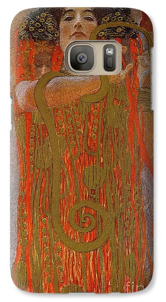 Hygieia Galaxy Case by Gustav Klimt