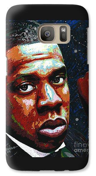 I Am Jay Z Galaxy Case by Maria Arango