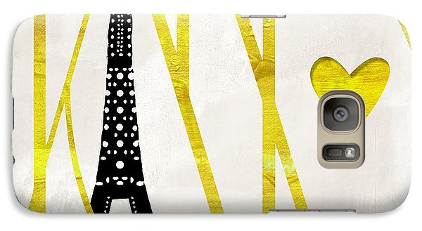 I Love Paris Galaxy S7 Case by Mindy Sommers