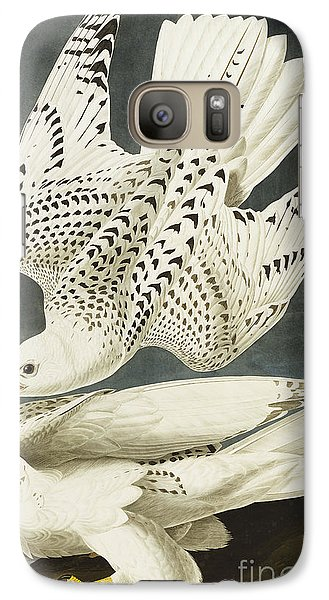 Iceland Or Jer Falcon Galaxy Case by John James Audubon