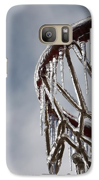Icy Hoops Galaxy S7 Case by Nadine Rippelmeyer
