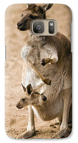 In  Mother's Care Galaxy Case by Mike  Dawson