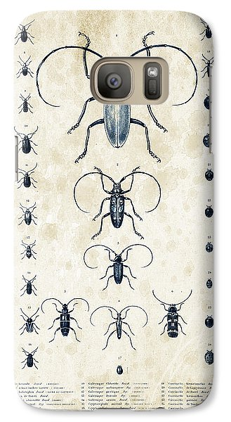 Insects - 1832 - 08 Galaxy S7 Case by Aged Pixel