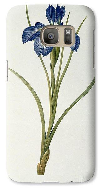 Iris Xyphioides Galaxy S7 Case by Pierre Joseph Redoute