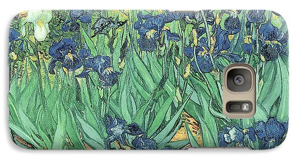 Irises Galaxy Case by Vincent Van Gogh