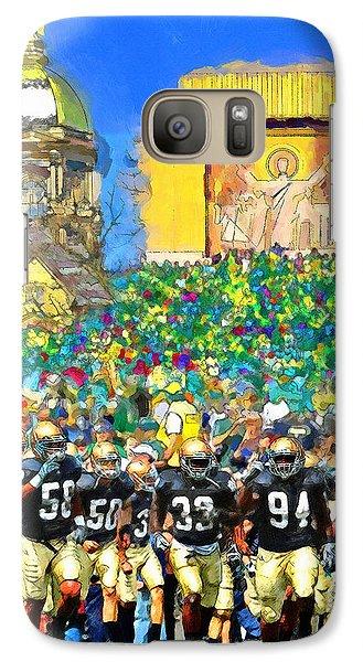 Irish Run To Victory Galaxy S7 Case by John Farr