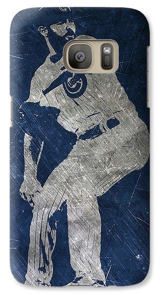 Jake Arrieta Chicago Cubs Art Galaxy Case by Joe Hamilton