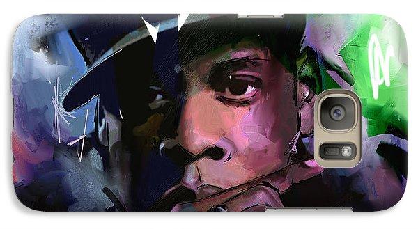 Jay Z Galaxy S7 Case by Richard Day