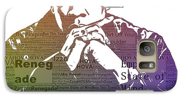 Jay Z Typography Galaxy Case by Dan Sproul