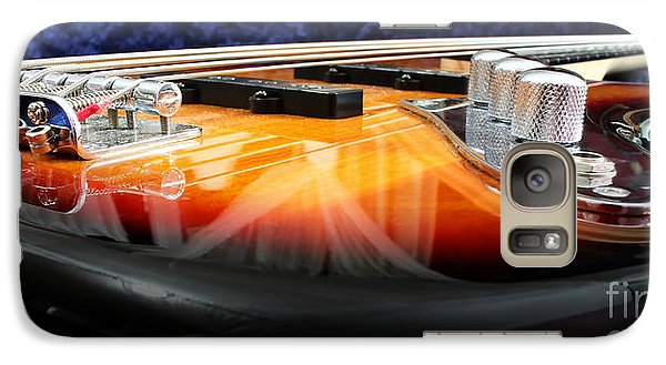 Jazz Bass Beauty Galaxy S7 Case by Todd A Blanchard