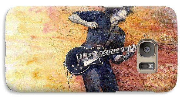 Jazz Rock Guitarist Stone Temple Pilots Galaxy S7 Case by Yuriy  Shevchuk