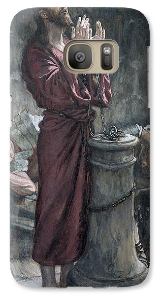Jesus In Prison Galaxy S7 Case by Tissot