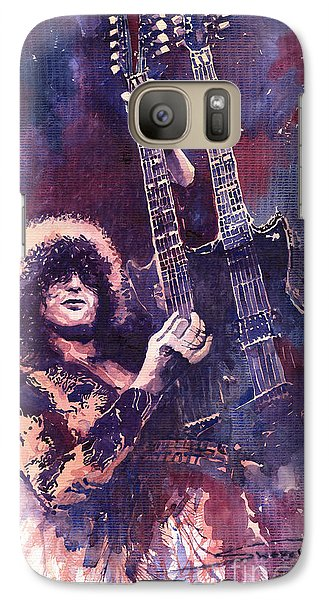 Jimmy Page  Galaxy Case by Yuriy  Shevchuk