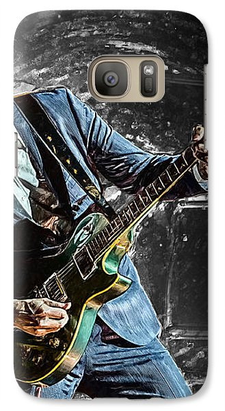 Joe Bonamassa Galaxy S7 Case by Taylan Apukovska